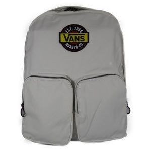 VANS Rubber Co. Fashionable School Bag (Off-White)